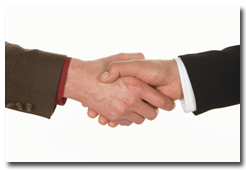 Communication Skills services: handshake